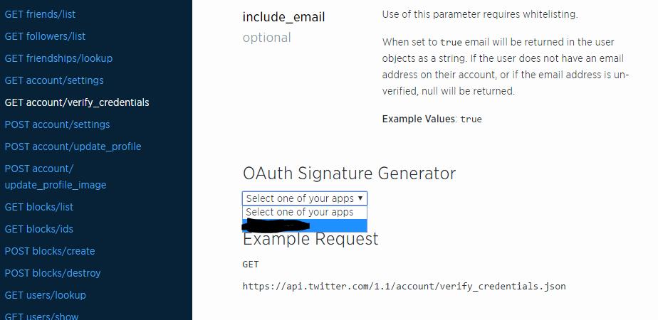 GenerateOAuthSignature