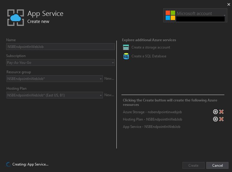 CreatingAppService